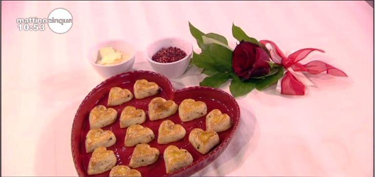 Biscotti al pepe rosa