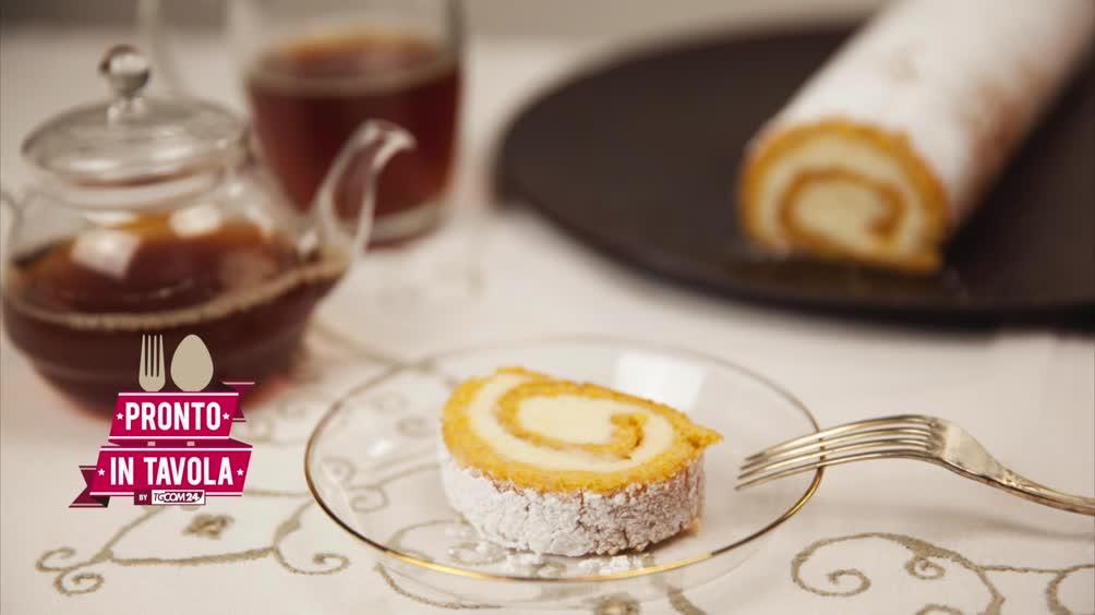 Video pronto in tavola i dolci di alice rotolo cremoso - Pronto in tavola alice ...