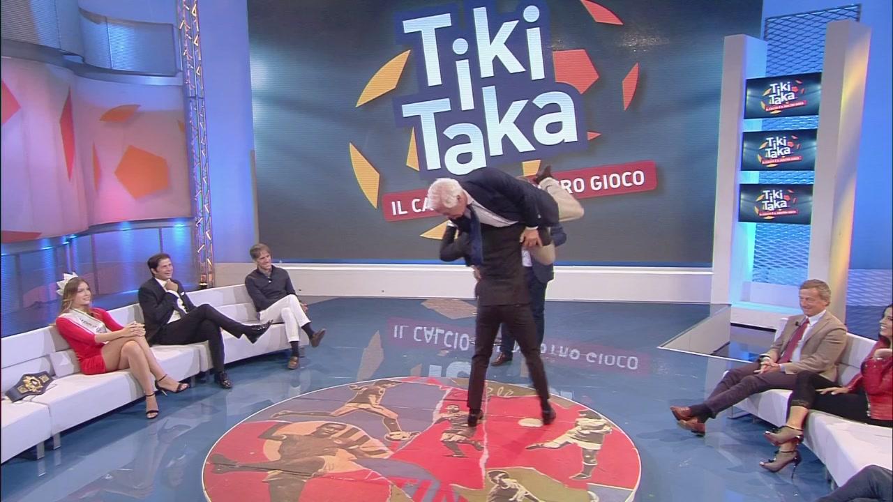 Video Tiki Taka : Chamizo placca Cadeo - CLIP | MEDIASET ...
