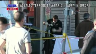 Assalto terrorista a Parigi, paura in Europa