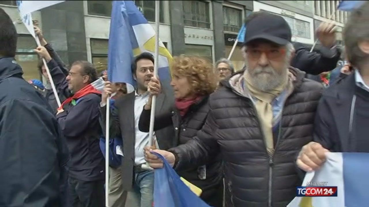 Video tgcom24 25 aprile a milano fischi alla brigata for Aste giudiziarie milano ultimi arrivi