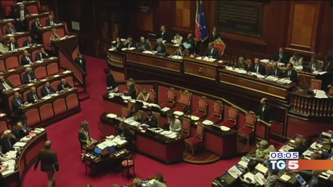 Video tg5 legge elettorale oggi in aula al senato for Leggi approvate oggi al senato
