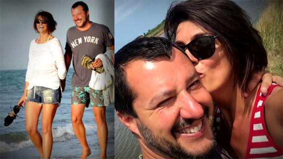 Matteo Salvini ed Elisa Isoardi: è vero amore?