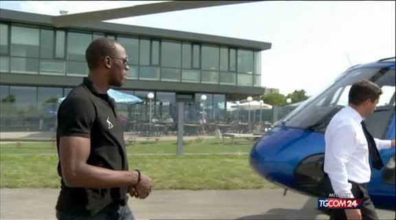 Elicottero Mediaset : Video tgcom bolt vola in elicottero mediaset on