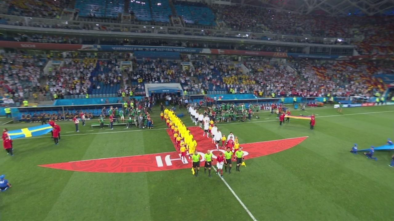 Mondiali, Germania-Svezia: partita intera