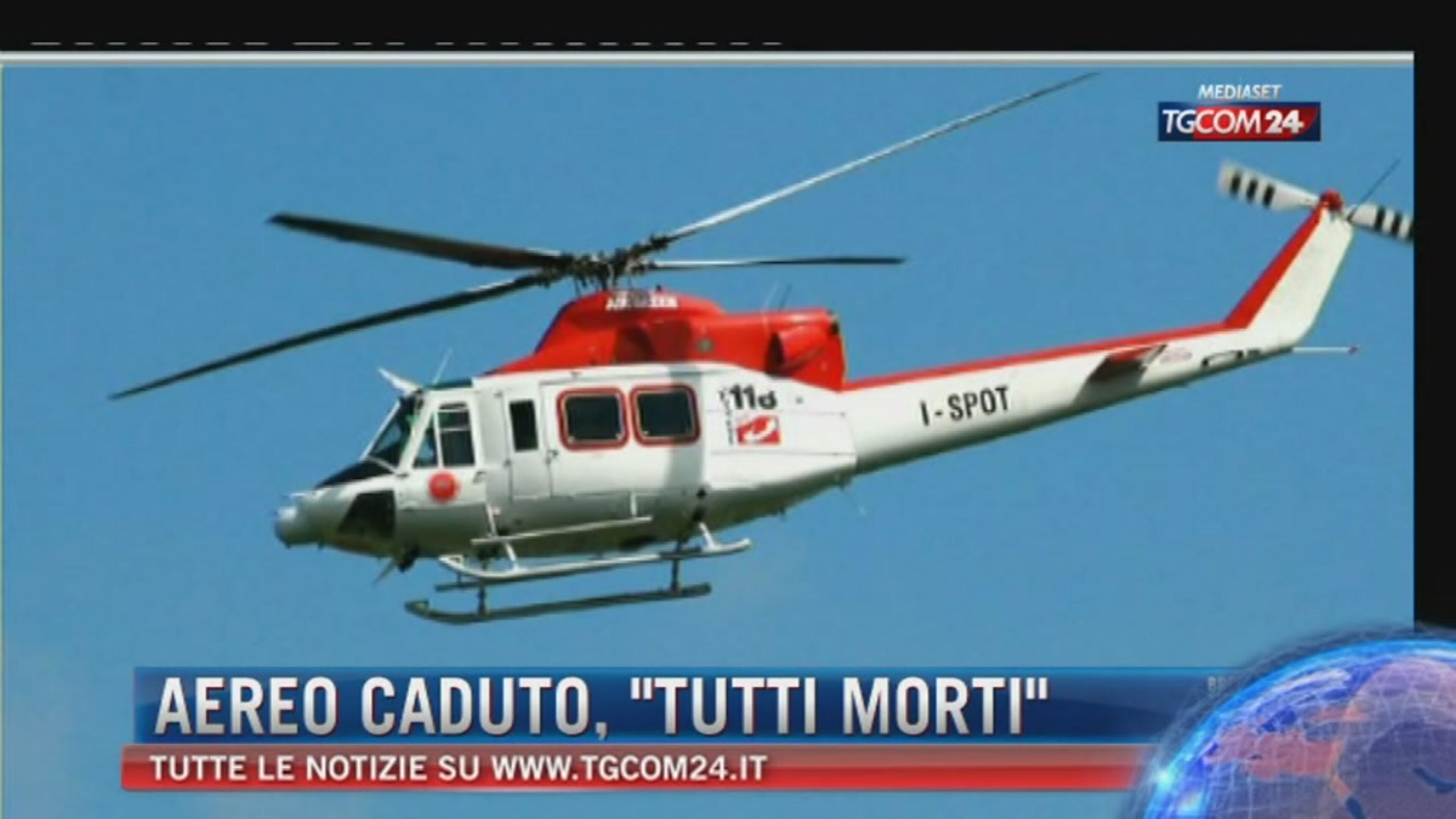 Elicottero Mediaset : Video tgcom elicottero precipita tra l aquila e