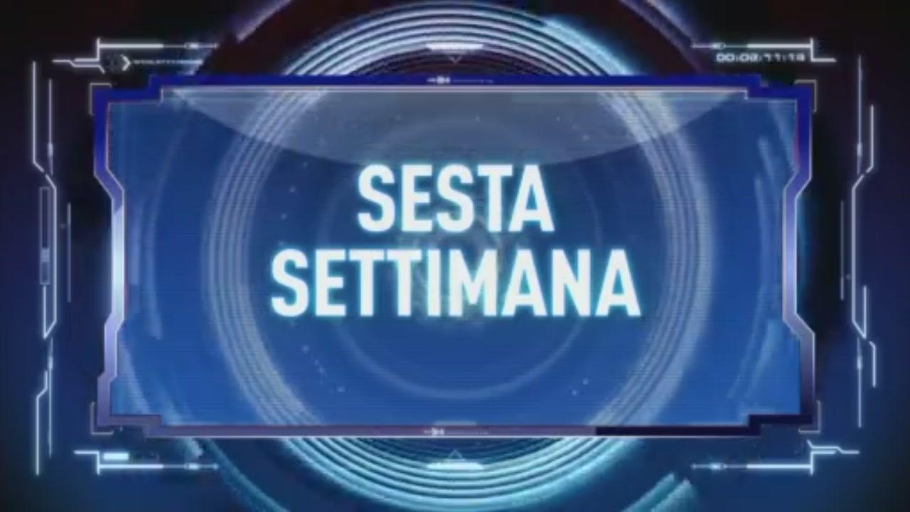 Sesta Settimana, Italia 1