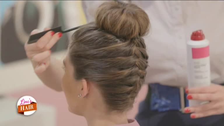 abbastanza Video Lina's hair: Bellissima per la tesi! - CLIP | MEDIASET ON DEMAND ZC96