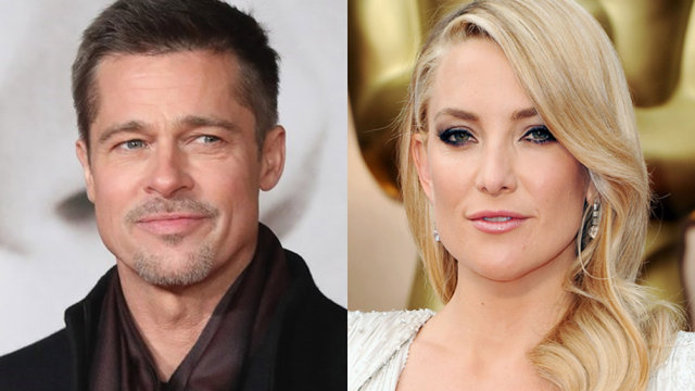 Brad Pitt e Kate Hudson: nuovo amore ad Hollywood?