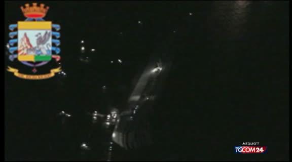 Elicottero Mediaset : Video tgcom costa le riprese dall elicottero cronaca