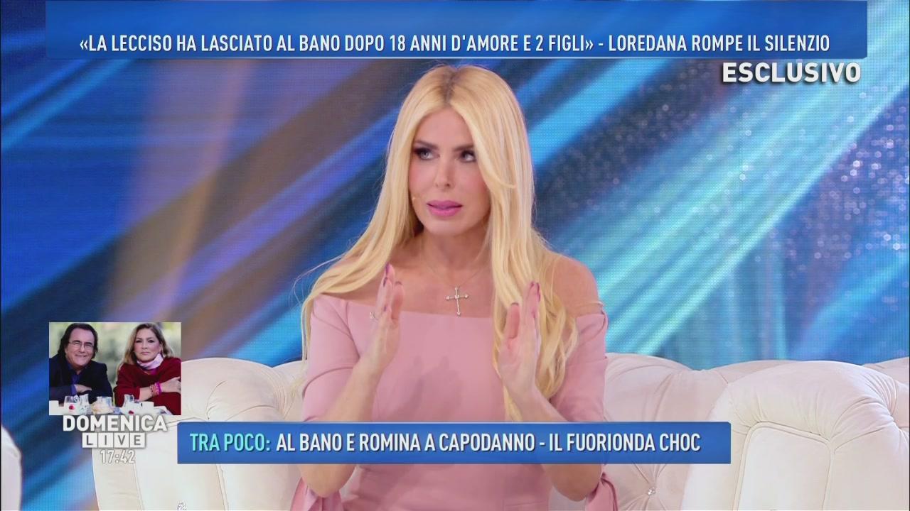 """ALBANO SBOTTA CONTRO LE TRASMISSIONI CHE PARLANO DI LUI, ROMINA E LOREDANA: """"LE ODIO!"""""""